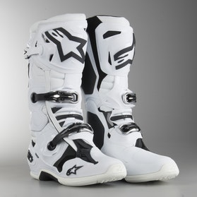 Alpinestars Tech 10 MX Boots White