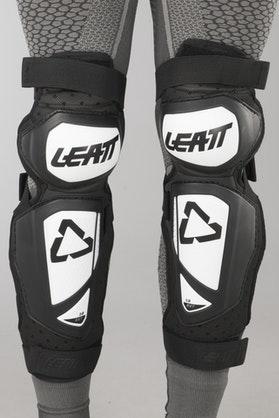 Leatt 3.0 EXT Knee Protection White-Black