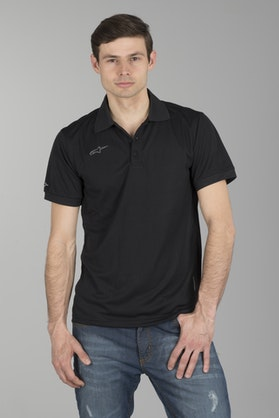 Alpinestars Vortex Polo Shirt Black