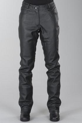 Spodnie skórzane IXS Gaucho 3 Czarny Kobieta