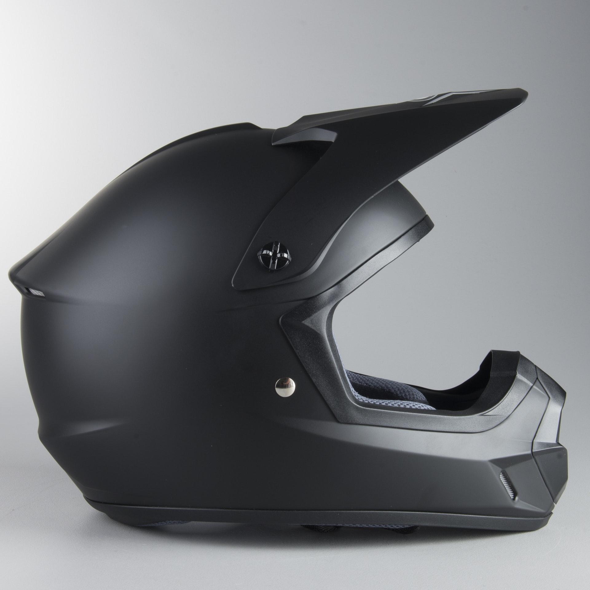 All Sizes HJC CS-MX II Ellusion MX ATV Helmet Flat Red