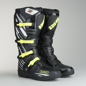 IXS XP-S2 Motocross Boot Black-White