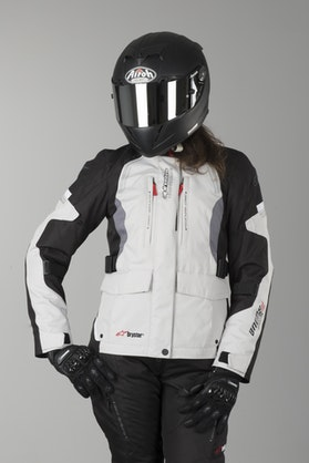 Alpinestars Andes V2 DS Women's Jacket Light Grey-Black