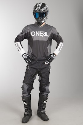 O'Neal Element Racewear MX Clothing Kit Black
