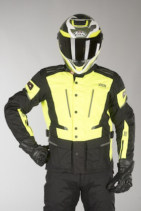 IXS Tour Powells-ST Jacket Neon Yellow-Black