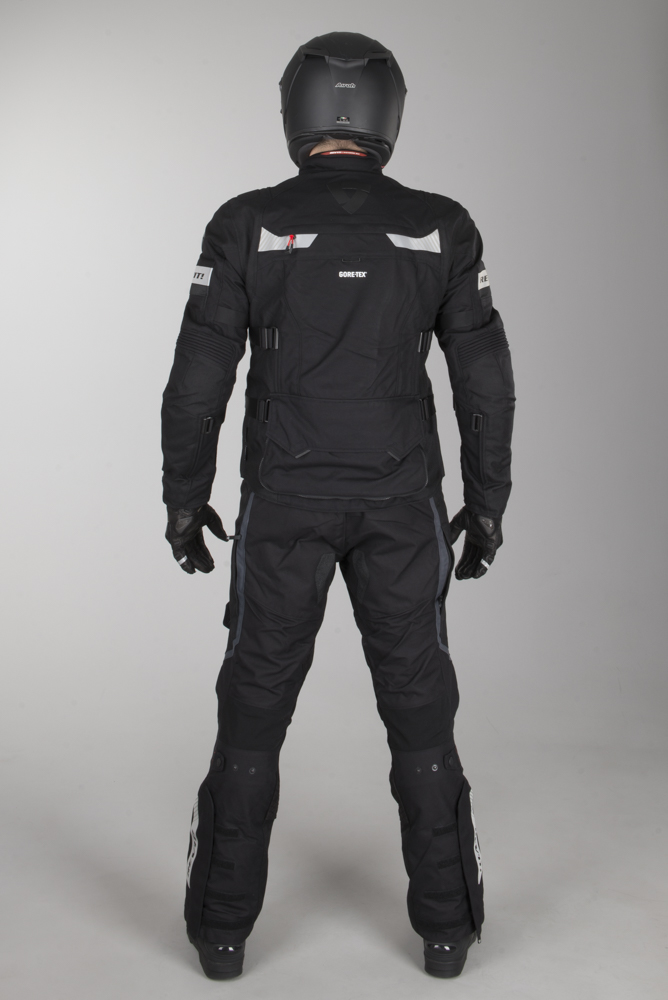 MC Bukse Lange Ben Revit Defender Pro GTX Svart Laveste