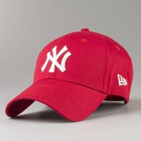 Czapka z Daszkiem New Era 940 League Basic New York Yankees Czerwona