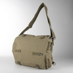 Brandit Canvas Shoulder Bag - Olive