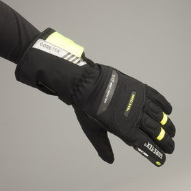 Richa North Gore-Tex® Gloves Black-Fluorescent Yellow