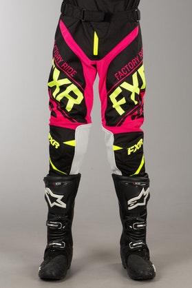 Spodnie Cross FXR Clutch Czarno-HiVis