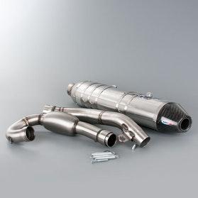 Kompletny układ wydechowy HGS