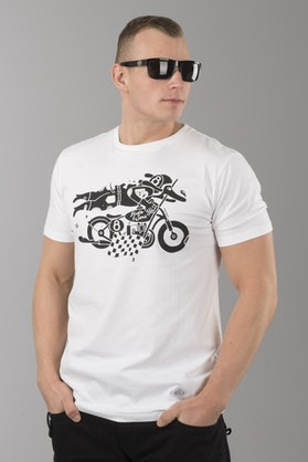 Ride&Sons Daredevil T-Shirt White