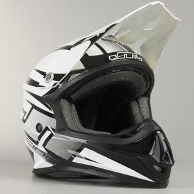 Crossová Helma JT Racing Prime Černá-Bílá