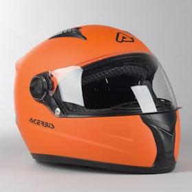 Kask Integralny Acerbis Full Face Fs-807 Pomarańczowy