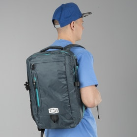 100% Transit Backpack Charcoal