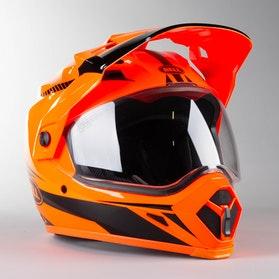 Adventure Helma Bell MX-9 ADV Torch Oranžová-Černá