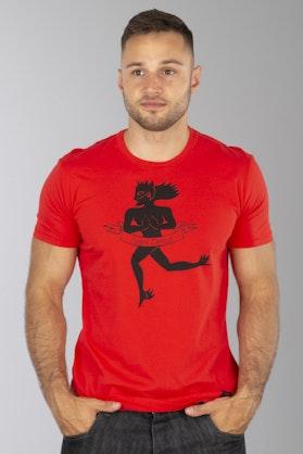 T-Shirt Dainese Essence Czerwony