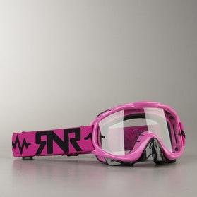 Gogle cross Rip 'n' Roll Hybrid Różowe