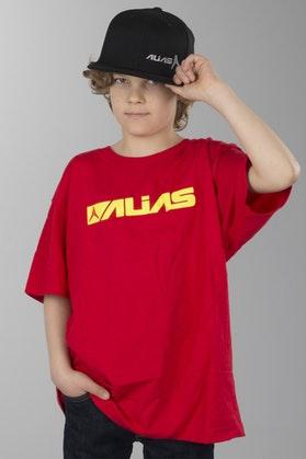 Koszulka Alias Block Czerwony-Żółty Dziecko