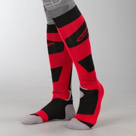 Ponožky Alpinestars Tech Coolmax Červená-Černá-Šedá