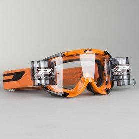Gogle cross ProGrip 3408 Pomarańczowe