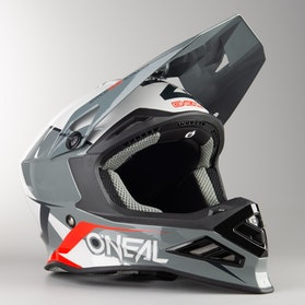 Kask Cross O'Neal 8 Series Blizzard Szary