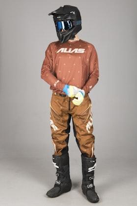 Alias A1 Designer MX Clothing Kit Brown