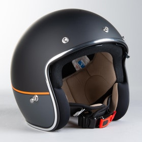IXS 77 2.2 Helmet Matte Black-Grey-Orange