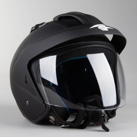 RXA Monaco Open Helmet Black
