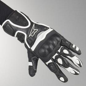 AXO Fight Gloves Black-White
