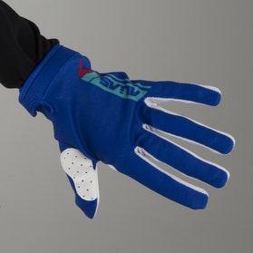 Alias Youth AKA Lite Sidestacked Gloves Blue-Red