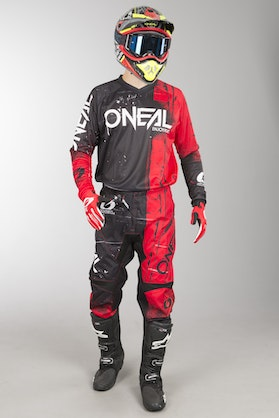 O'Neal Element Shred MX Clothing Kit Red