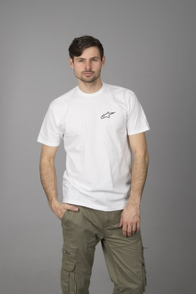 T-Shirt Alpinestars Neu Ageless Biały