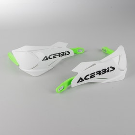 Acerbis X-Factory Hand Guard Fluo Green-White