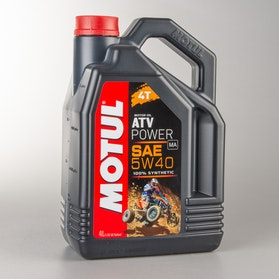 Olej w Pełni Syntetyczny 4T Motul ATV Power 5W40 1L