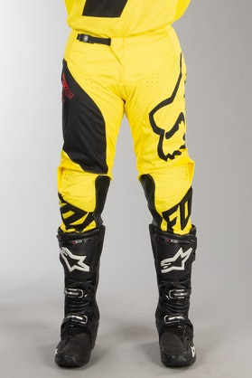 Fox 180 Mastar MX Trousers Yellow MX 18