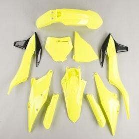 Komplet Plastików Polisport Neonowożółty