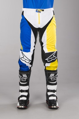 AXO Trans-Am Pants Blue-Yellow