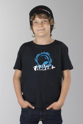 Koszulka Raven Strike Czarny Dziecięca