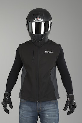 Acerbis MX One Off-Road Jacket Black & Grey