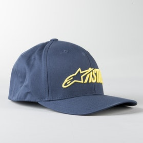 Kšiltovka Alpinestars Angle Blaze Žluto-Námořnicky Modrá
