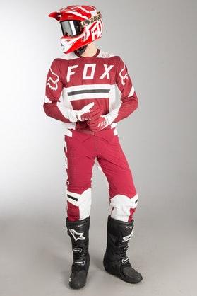 Fox Flexair Preest MX Clothes Dark Red MX 18