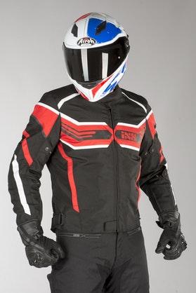 IXS Sport RS-400-ST Jacket Black-Red-White