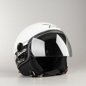 AXO Subway Top Jet Helmet - White