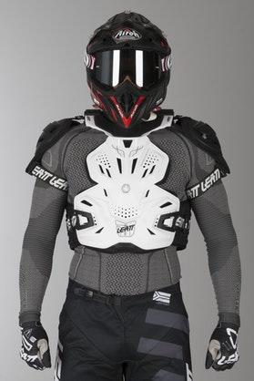 Kamizelka Ochronna Leatt Fusion Vest 3.0 Biała