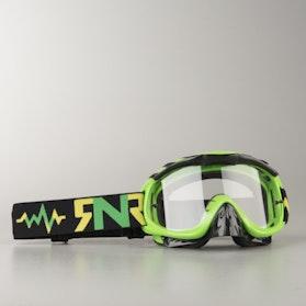 Crossové Brýle Rip 'n' Roll Hybrid LimeZelená