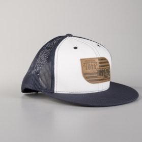 Cap MSR Heritage, Blå/Hvid