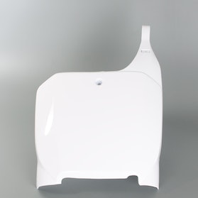 RTech Number Plate - White
