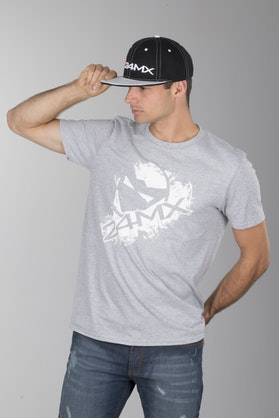 24MX Head T-Shirt Gray
