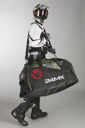 24MX All-In-One Gearbag Forest Camo